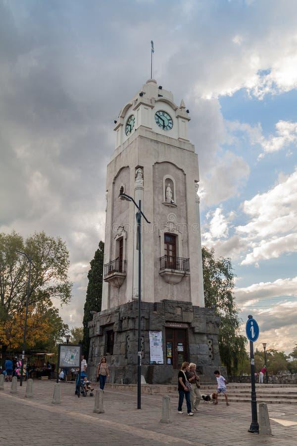 Klockatorn i Alta Gracia royaltyfri fotografi