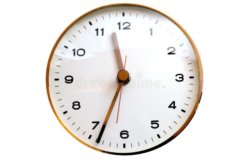 klockavägg royaltyfria foton
