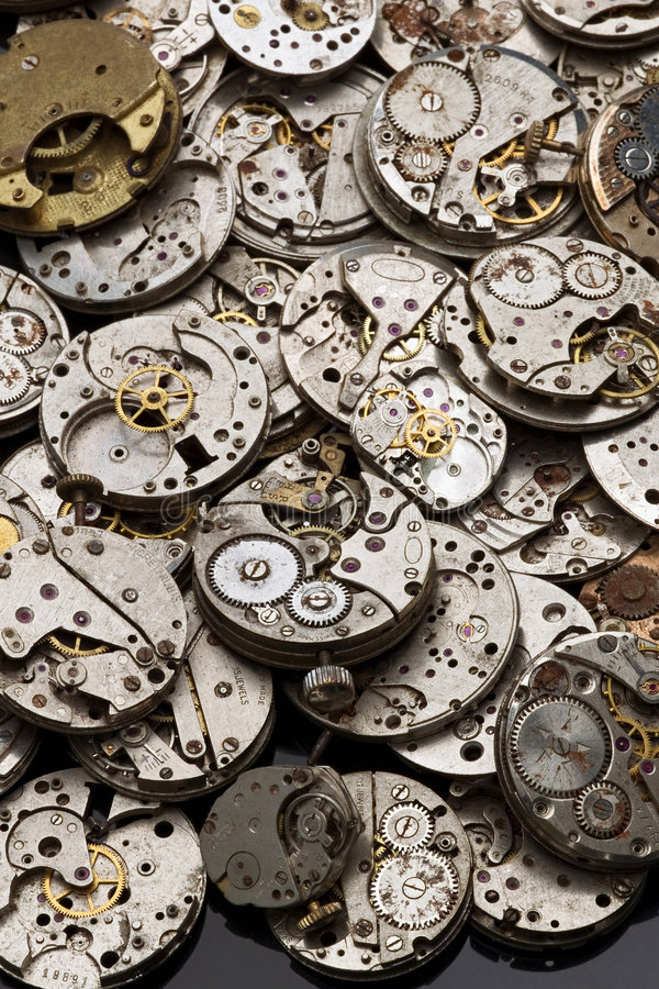 klockor arkivbild