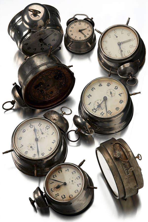 klockor fotografering för bildbyråer