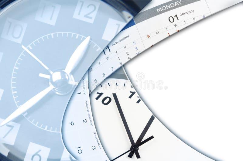 Klockor och kalendrar fotografering för bildbyråer