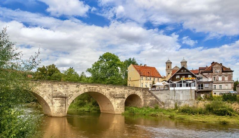 Klodzko στην Πολωνία - πόλης σύνολο των μνημείων στοκ φωτογραφίες