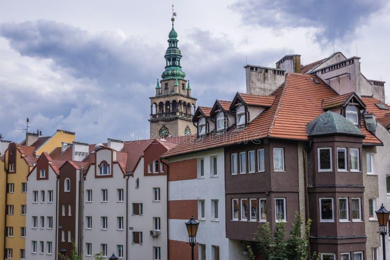 Klodzko в Польше стоковое изображение