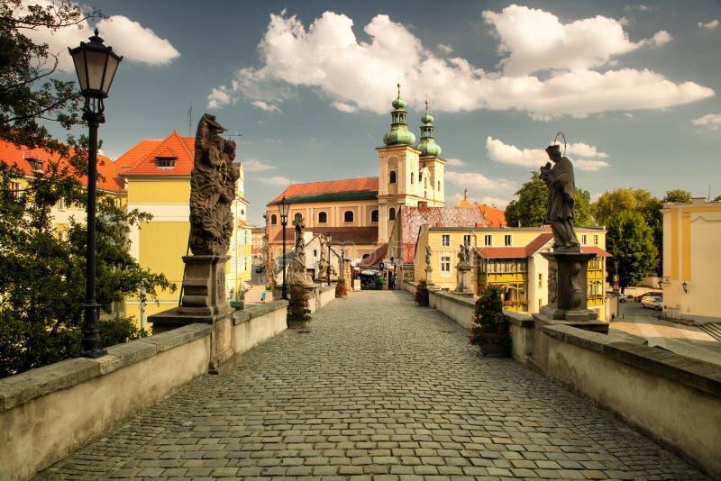Klodzko in Polen lizenzfreie stockfotografie