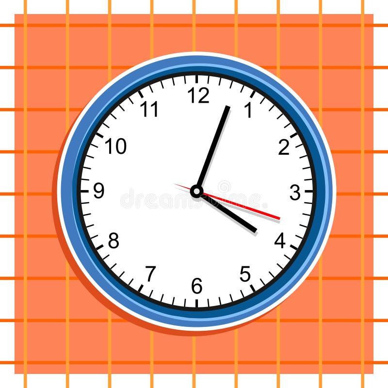 Download Klok vector illustratie. Afbeelding bestaande uit analogon - 48788