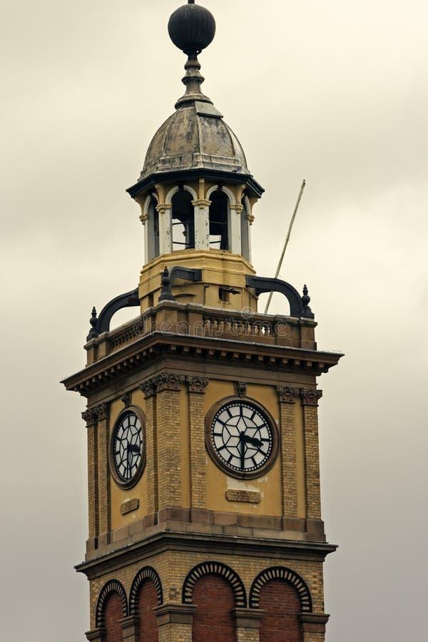 Klokketoren in Newcastle stock afbeeldingen