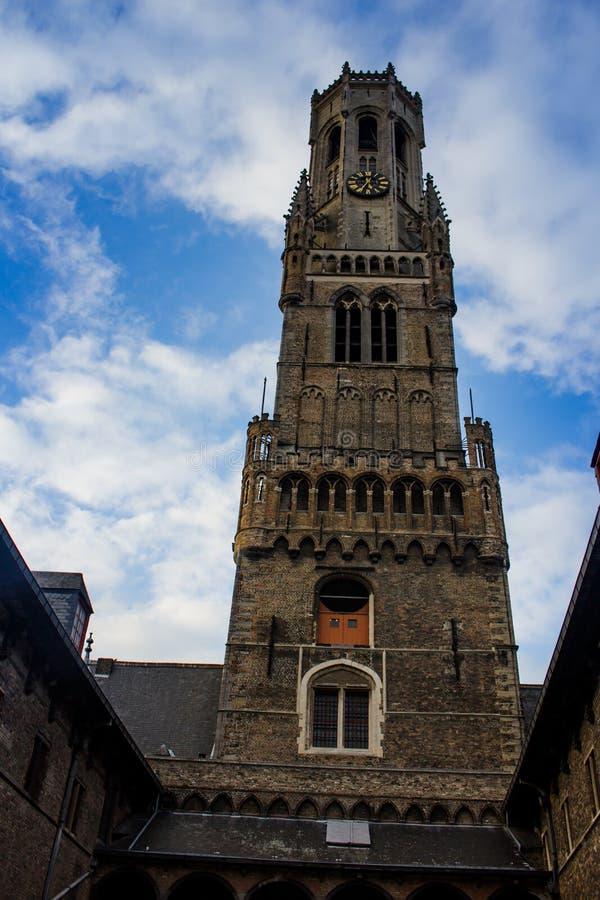 Klokketoren van Brugge royalty-vrije stock foto's