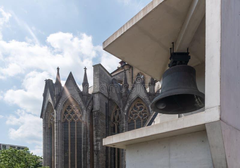 Klokketoren van Gent stock foto