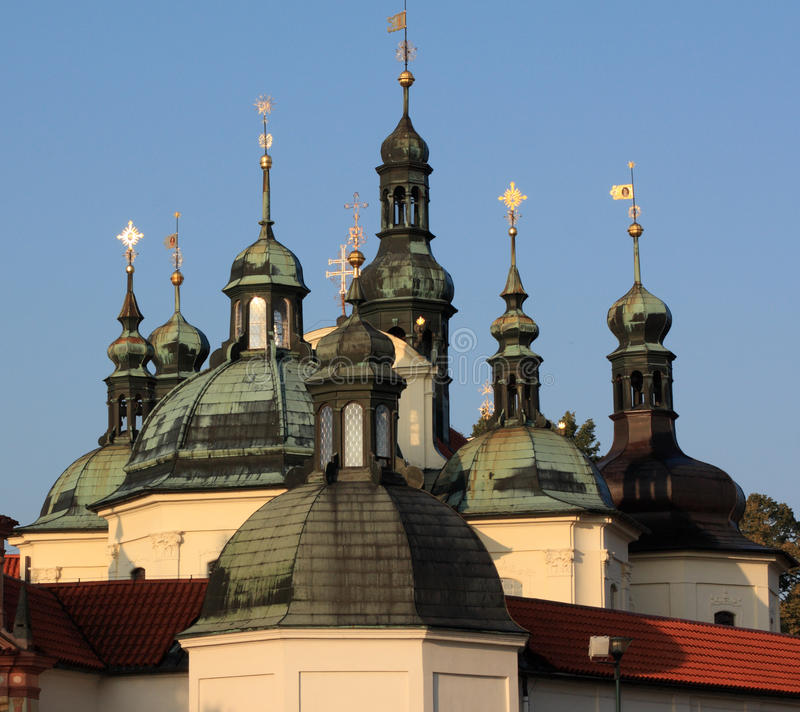 Klokoty - Pilgrimage Monastery Stock Photo