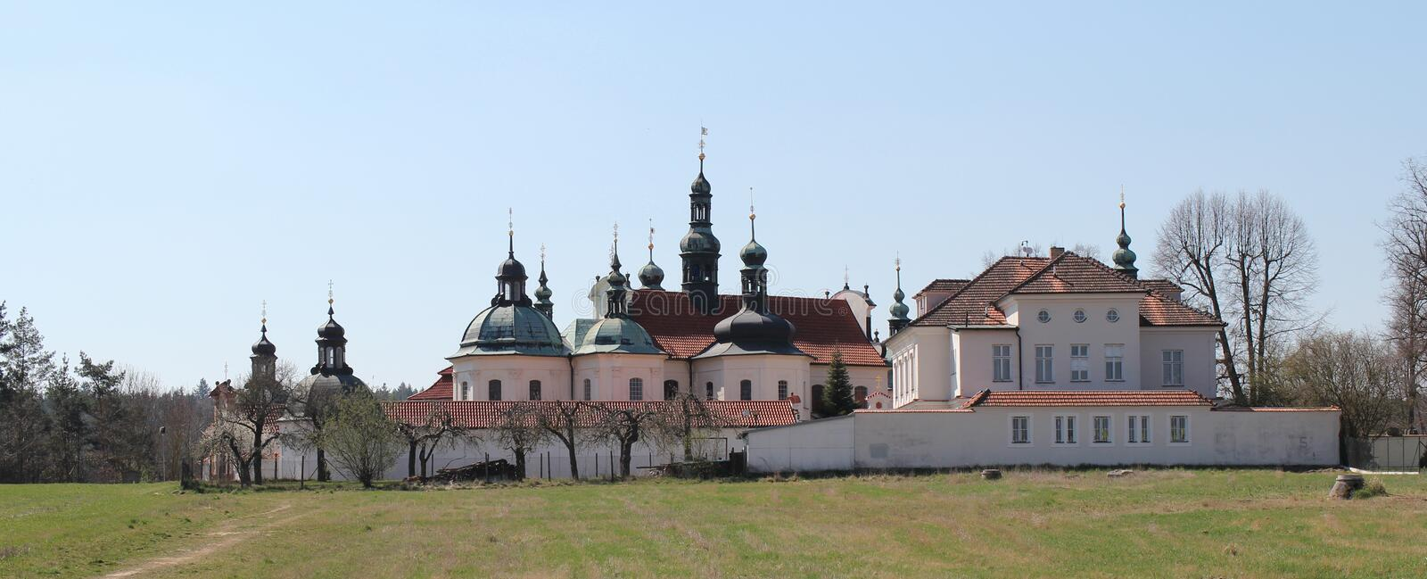 Klokoty in Tabor, Czech republic, place of pilgrimage.  royalty free stock photography