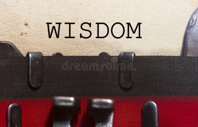 Klokt intellektbegrepp för vishet royaltyfria foton