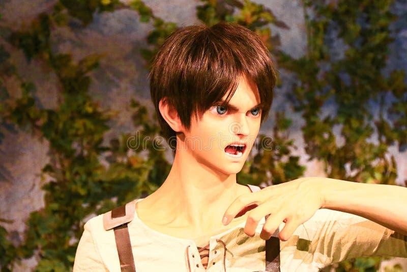 Klon-oid av den Ellen labbet från Shingeki ingen Kyojin royaltyfri foto