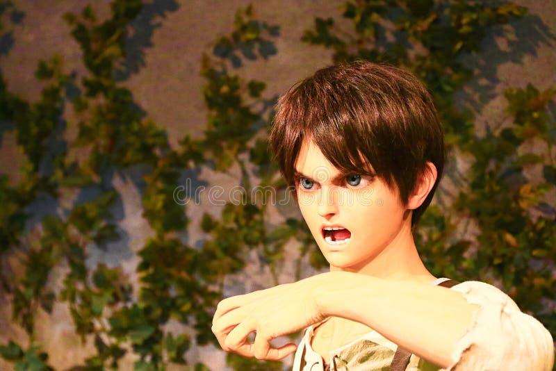 Klon-oid av den Ellen labbet från Shingeki ingen Kyojin royaltyfri bild