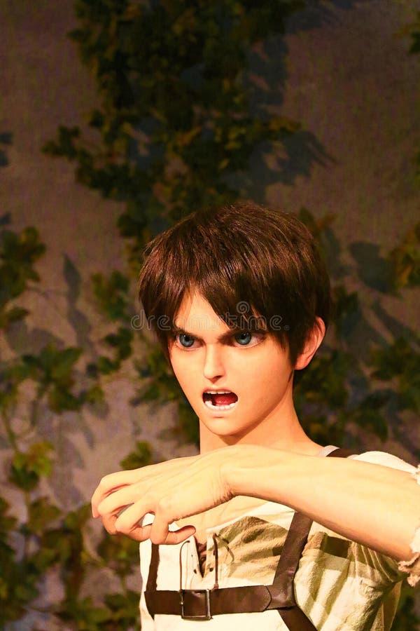 Klon-oid av den Ellen labbet från Shingeki ingen Kyojin arkivfoto