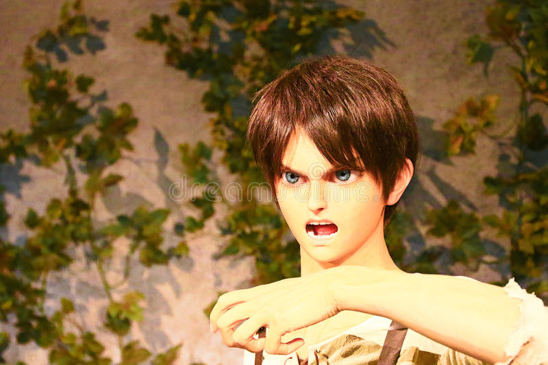 Klon-oid av den Ellen labbet från Shingeki ingen Kyojin fotografering för bildbyråer