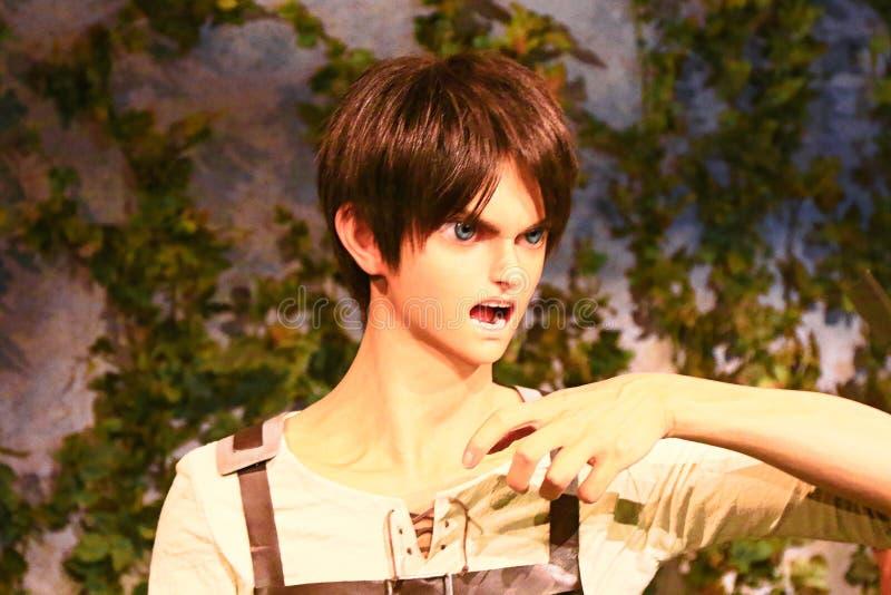 Klon-oid av den Ellen labbet från Shingeki ingen Kyojin royaltyfria foton