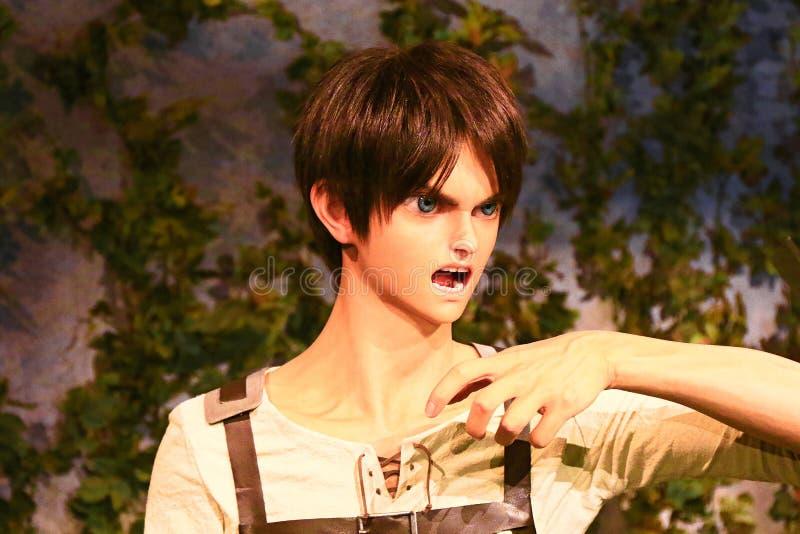 Klon-oid av den Ellen labbet från Shingeki ingen Kyojin royaltyfria bilder