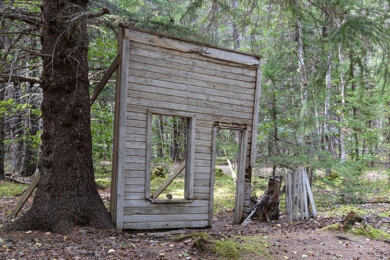 Klondike gold rush Historical park. Skagway Alaska royalty free stock image