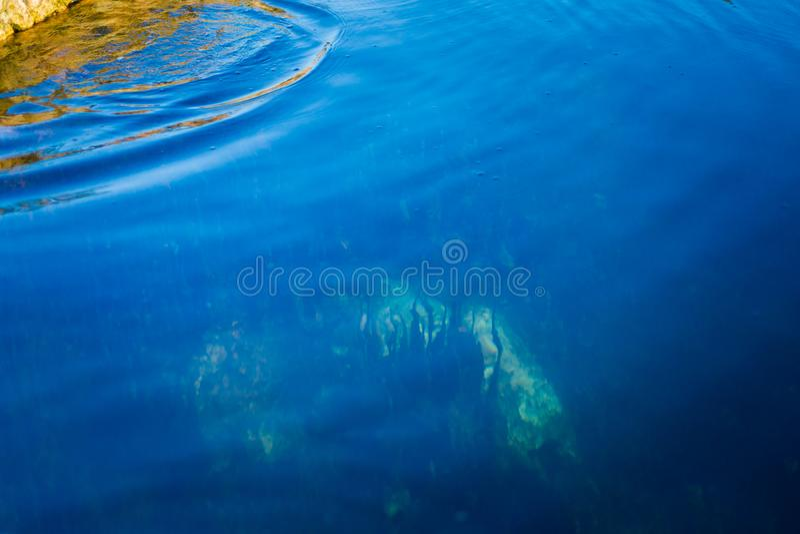 Klong Thom Saline Hot Springs foto de stock royalty free