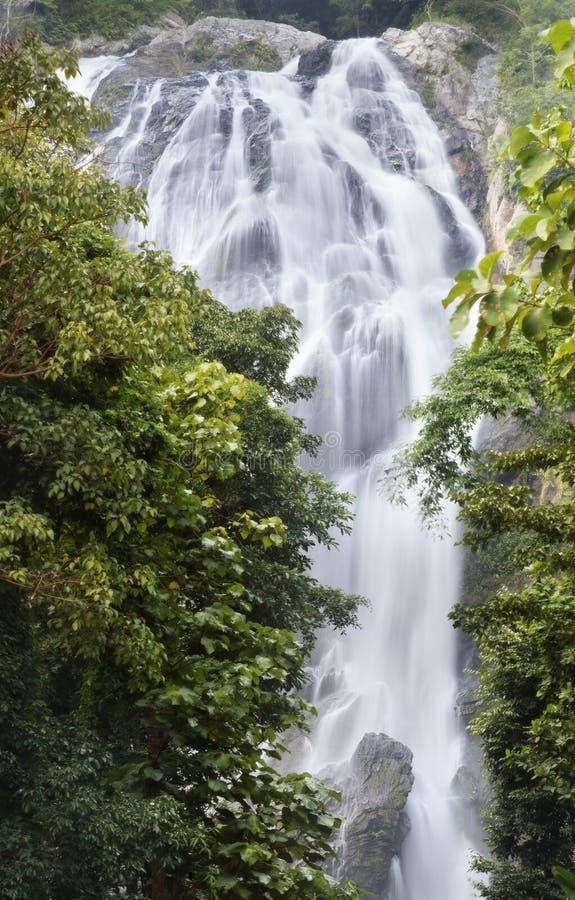 Download Klonglan Waterfall stock image. Image of exotic, huai - 26968571