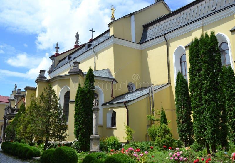 Klooster stock fotografie