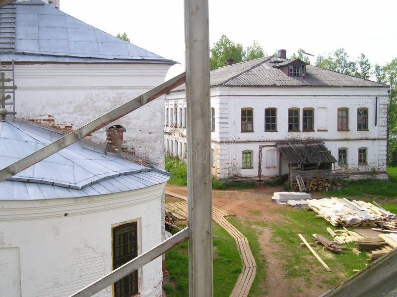 Klooster artemievo-Vercolsky Orthodox overblijfsel royalty-vrije stock foto