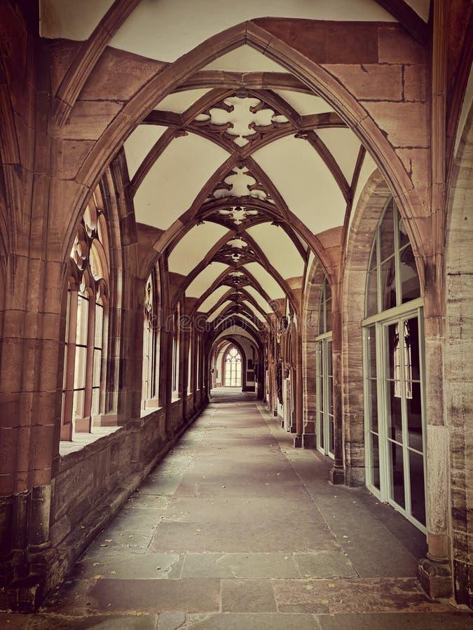 Klooster in Bazel Munuster royalty-vrije stock foto