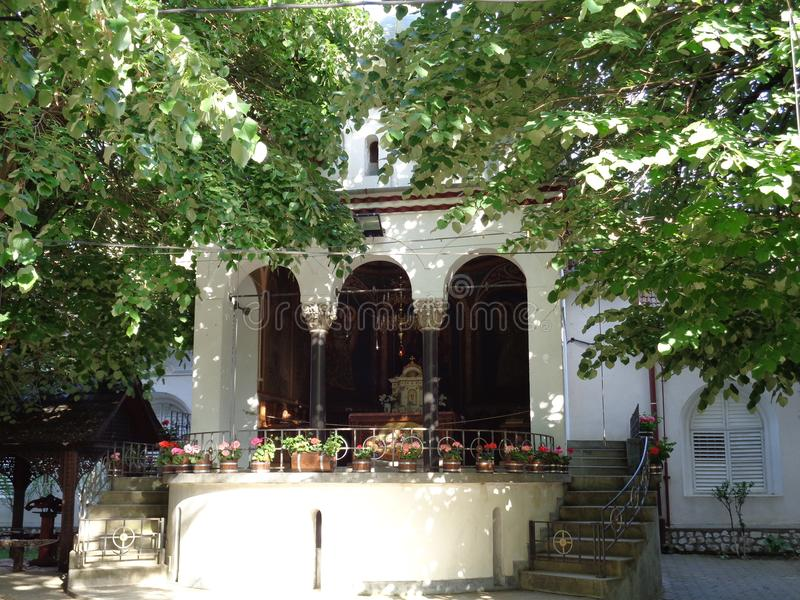 Klooster hodos-Bodrog royalty-vrije stock foto
