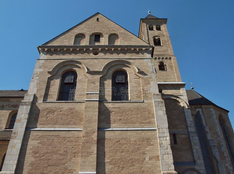 Klooster Kloster Knechtsteden in Duitsland stock afbeelding