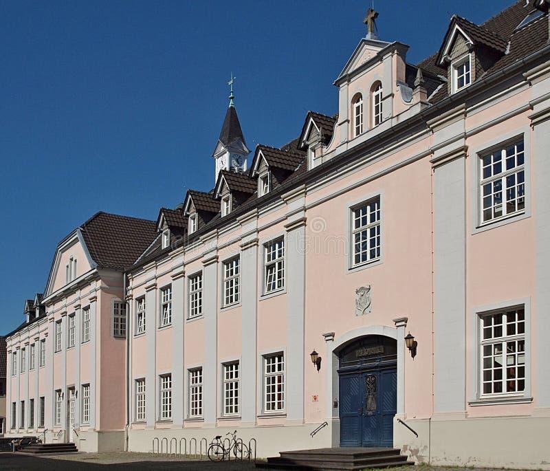Klooster Kloster Knechtsteden in Duitsland royalty-vrije stock foto
