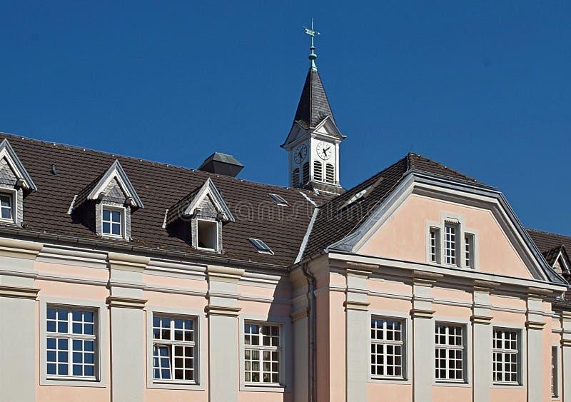 Klooster Kloster Knechtsteden in Duitsland stock fotografie