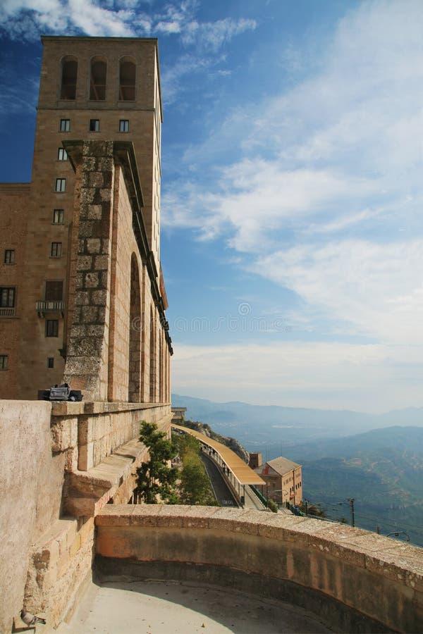 Klooster Montserrat, Spanje royalty-vrije stock fotografie