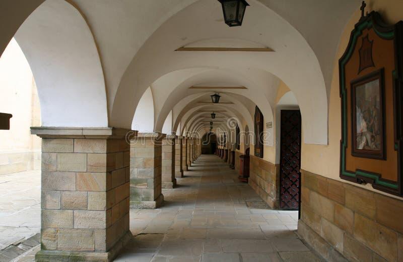 Klooster in Polen royalty-vrije stock foto