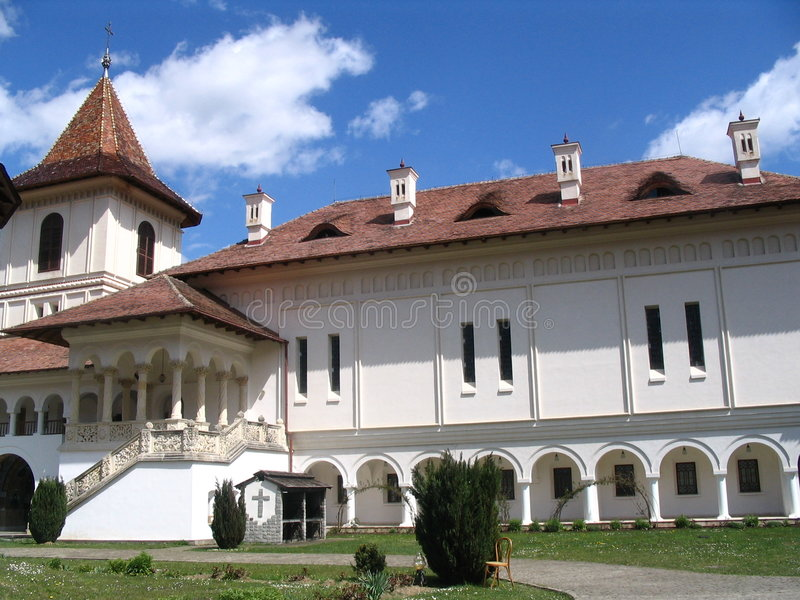 Klooster Sambata, Roemenië royalty-vrije stock foto
