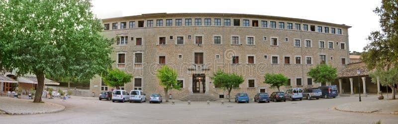 Klooster Santuari DE Santa Maria de Lluc, Majorca, Spanje royalty-vrije stock afbeeldingen