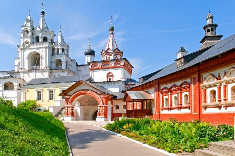 Klooster savvino-Storozhevsky stock afbeeldingen