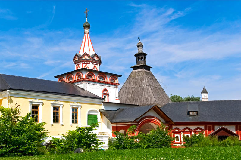 Klooster savvino-Storozhevsky royalty-vrije stock afbeeldingen