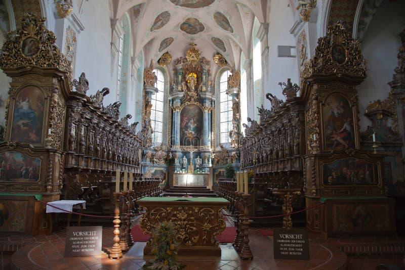 Klooster Schussenried royalty-vrije stock afbeeldingen