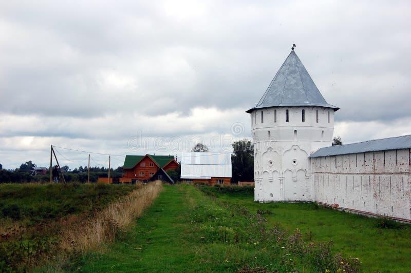 Klooster spaso-Prilutsky in Vologda stock fotografie