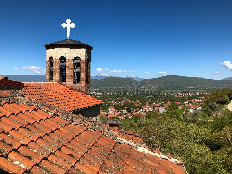 Klooster StPetka stock foto