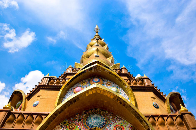 Klooster in Thailand royalty-vrije stock foto's