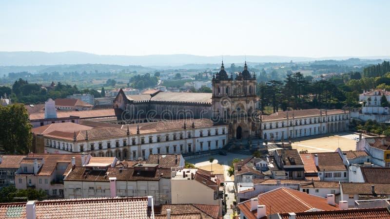 Klooster van Alcobaca stock foto