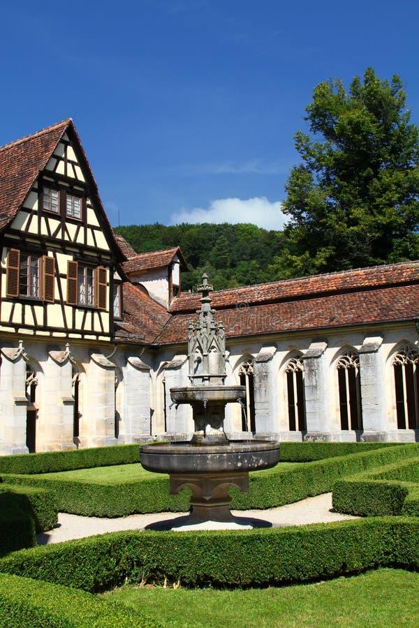 Klooster van Bebenhausen royalty-vrije stock afbeeldingen