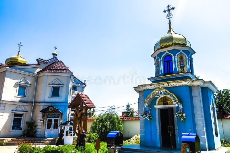Klooster 02 van Chisinauciuflea royalty-vrije stock foto