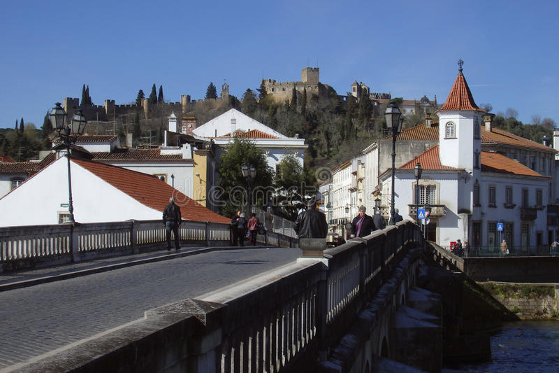 Klooster van Christus Tomar Portugal royalty-vrije stock afbeelding