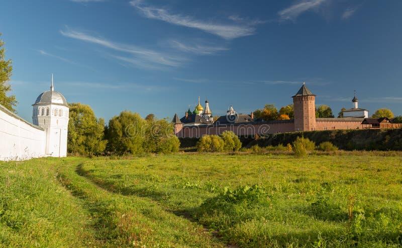 Klooster van de Muur van Heilige Euthymius, Suzdal, Rusland stock foto's