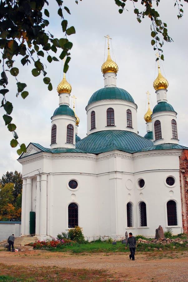 Klooster van Epiphany in Uglich, Rusland royalty-vrije stock foto's