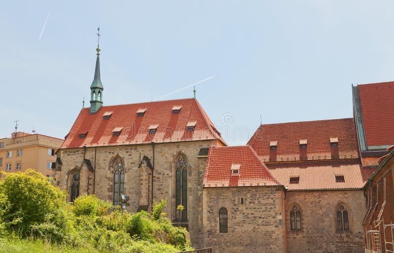 Klooster van Heilige Agnes, Praag, Tsjechische Republiek royalty-vrije stock afbeeldingen