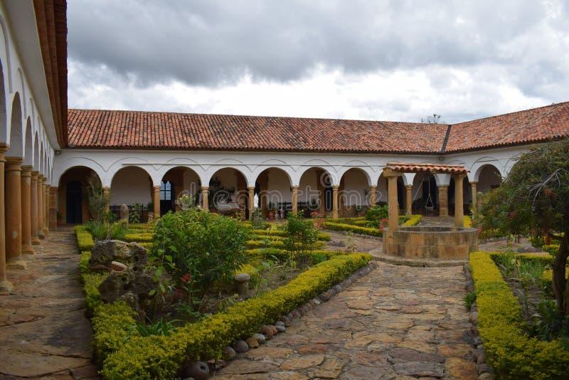 Klooster van Heilige Eccehomo binnen royalty-vrije stock afbeelding