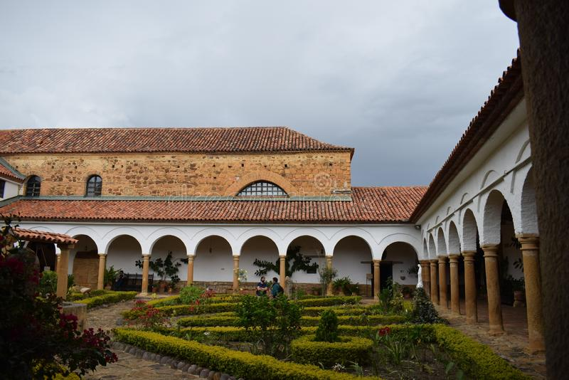Klooster van Heilige Eccehomo binnen stock foto's